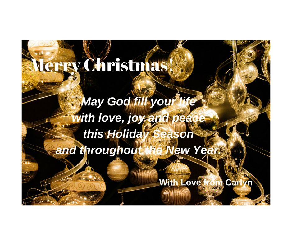 Merry Christmas! from Carlyn Lowery in Annapolis Maryland