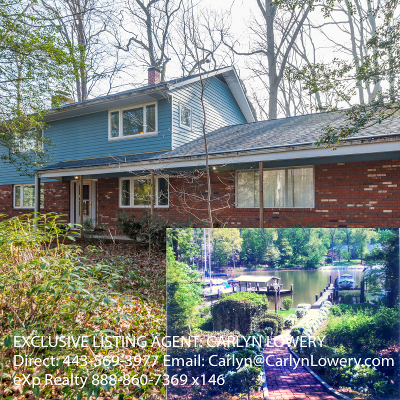1610 Laurel Ln, Annapolis MD 21409 Annapolis Waterfront Home for Sale
